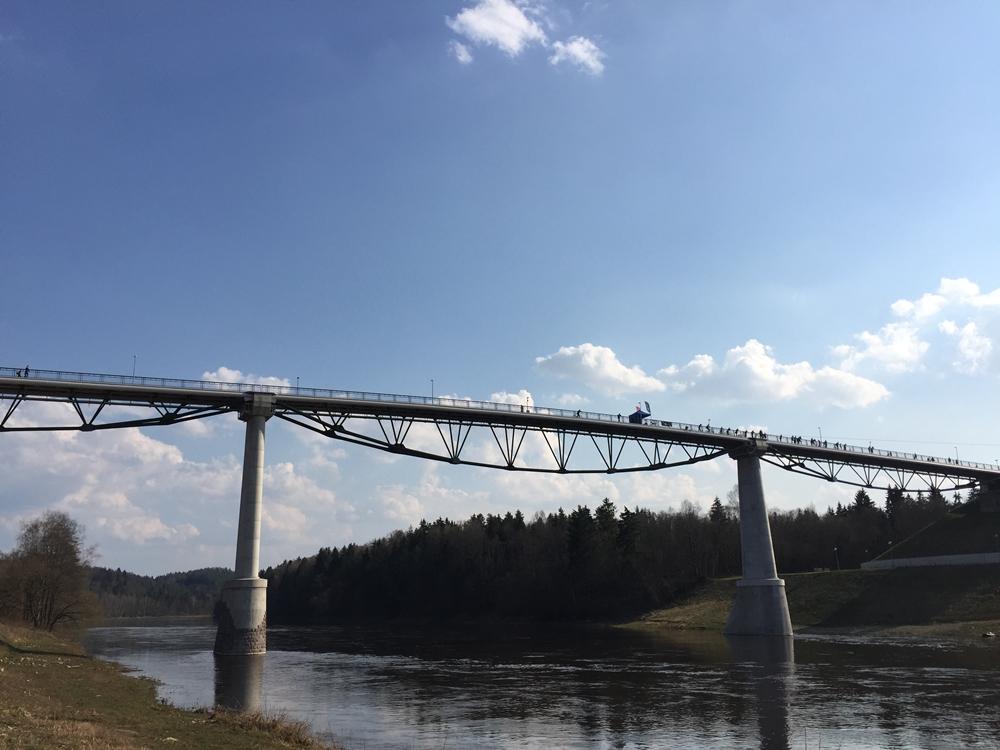Pesciuju tiltas Alytus