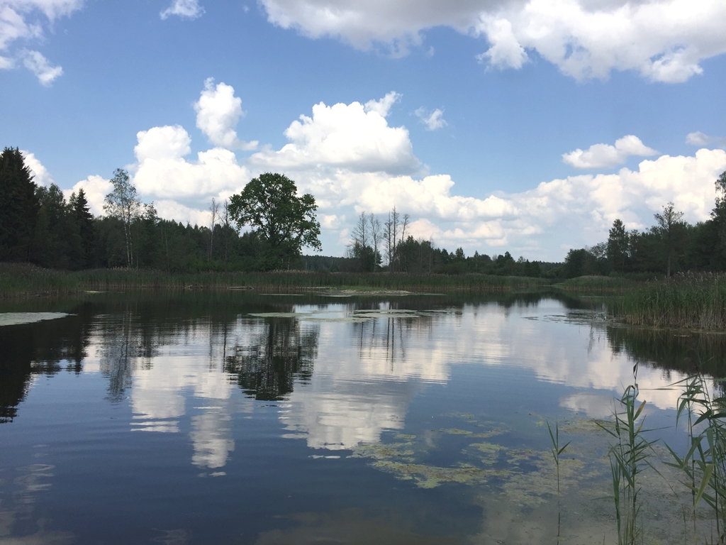 Kirkilu karstinis ezeras