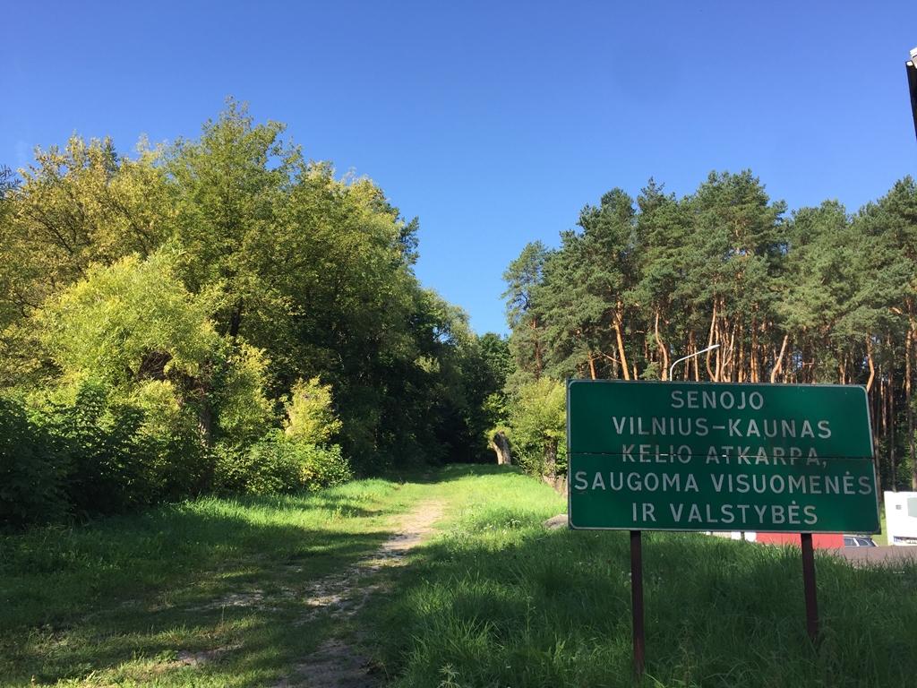 senasis kelias Vilnius-Kaunas